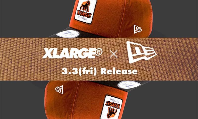 XLARGE® 再次携手 New Era 带来 9FORTY D-Frame 帽款
