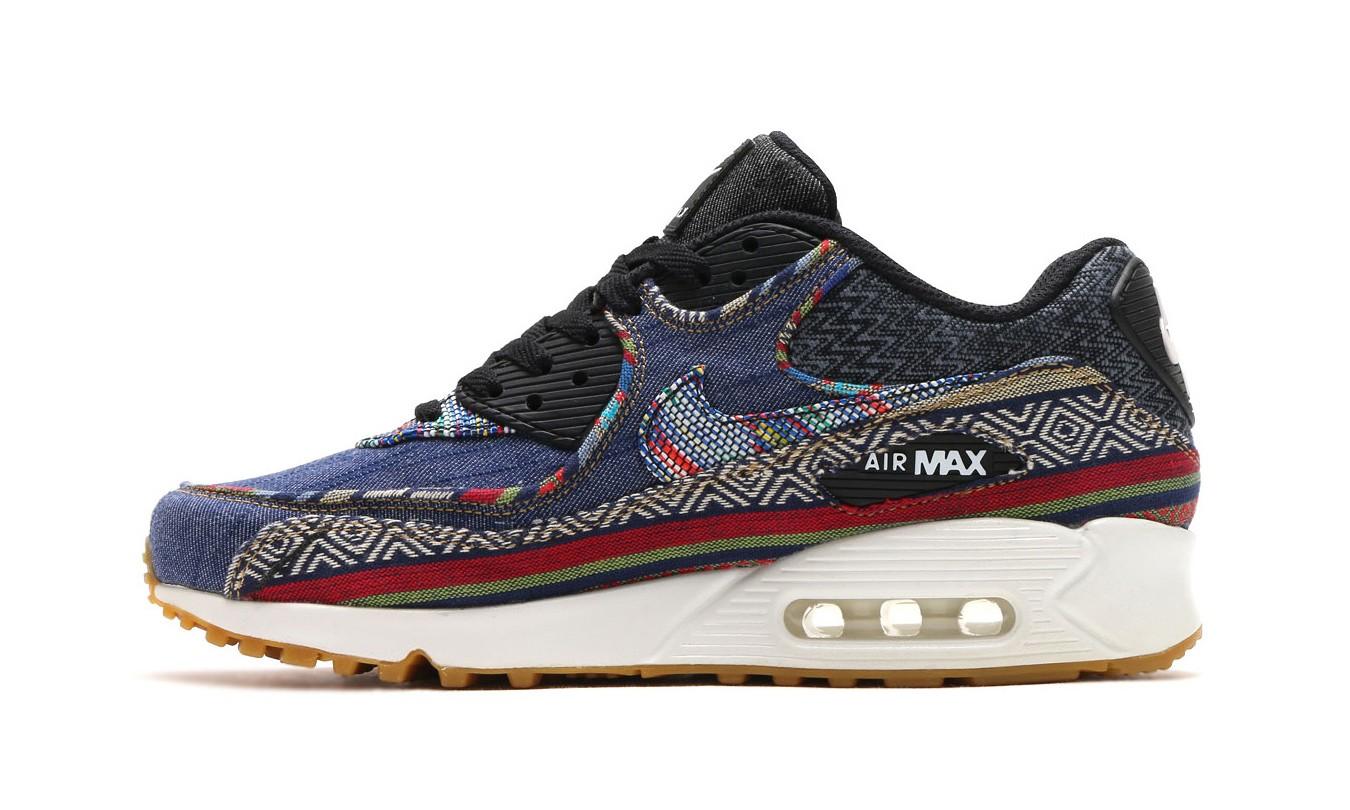 """非洲民族图案+丹宁布料,Nike 带来 """"Afro Punk"""" 限量鞋款系列"""