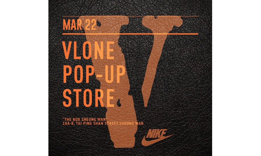 VLONE POP UP STORE 下一站将来到香港