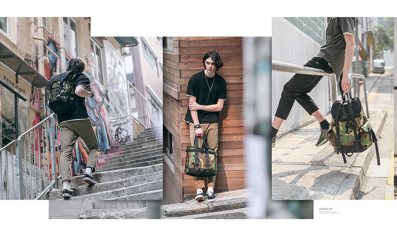 COMBACK 2017 春夏 Camo 迷彩系列包袋造型 Lookbook 发布