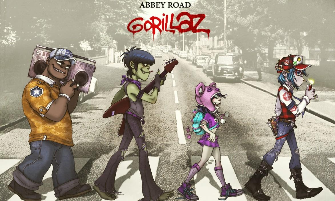 "Gorillaz 发布 ""Saturnz Barz"" 视频,并曝光《HUMANZ》单曲"