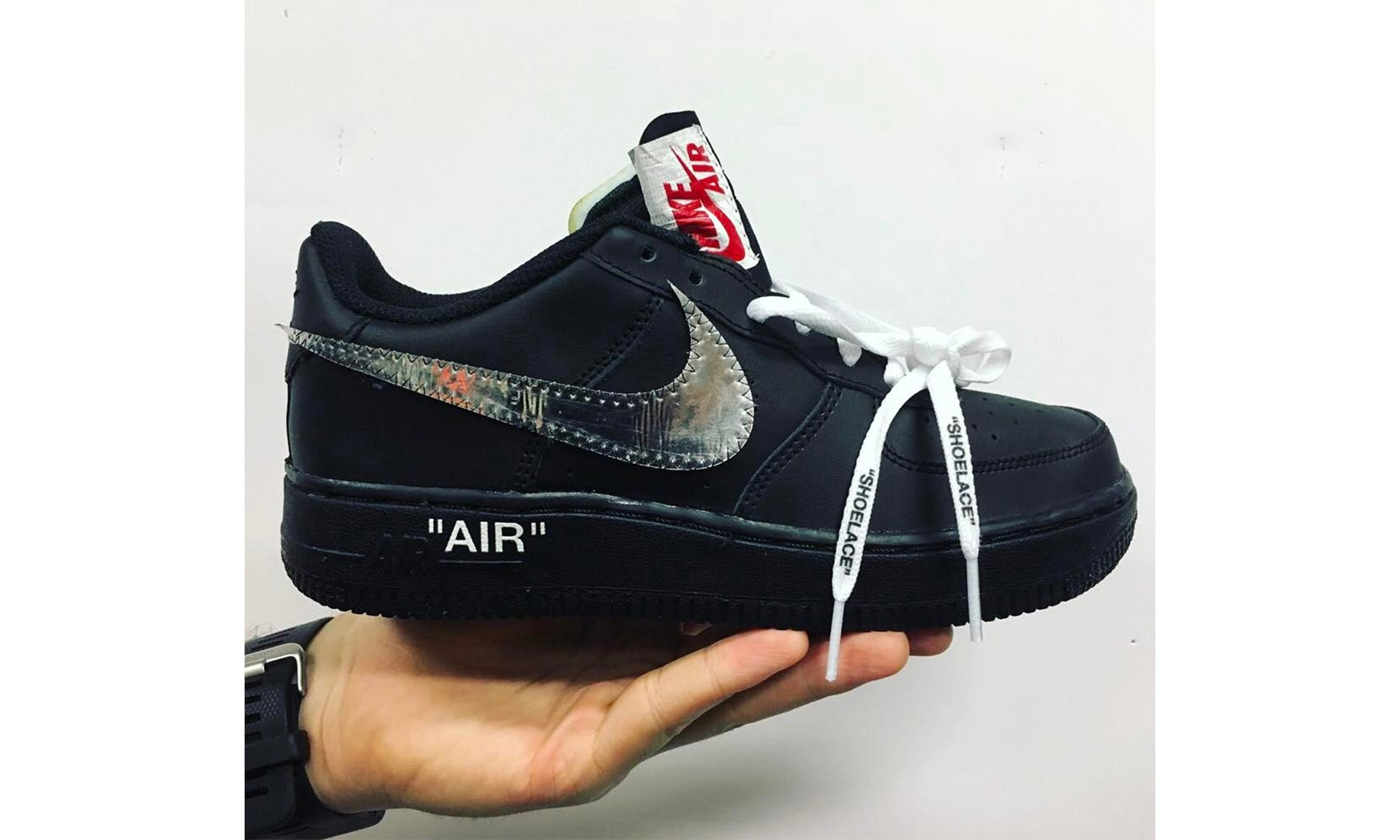 Virgil Abloh 又晒出这双 OFF-WHITE x Nike Air Force 1 眼馋你们了