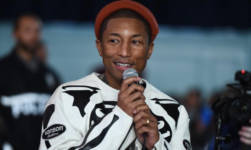 一部讲述 Pharrell Williams 人生经历的电影要诞生了