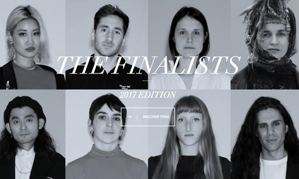 2017 LVMH 年轻设计师大奖决赛名单公布