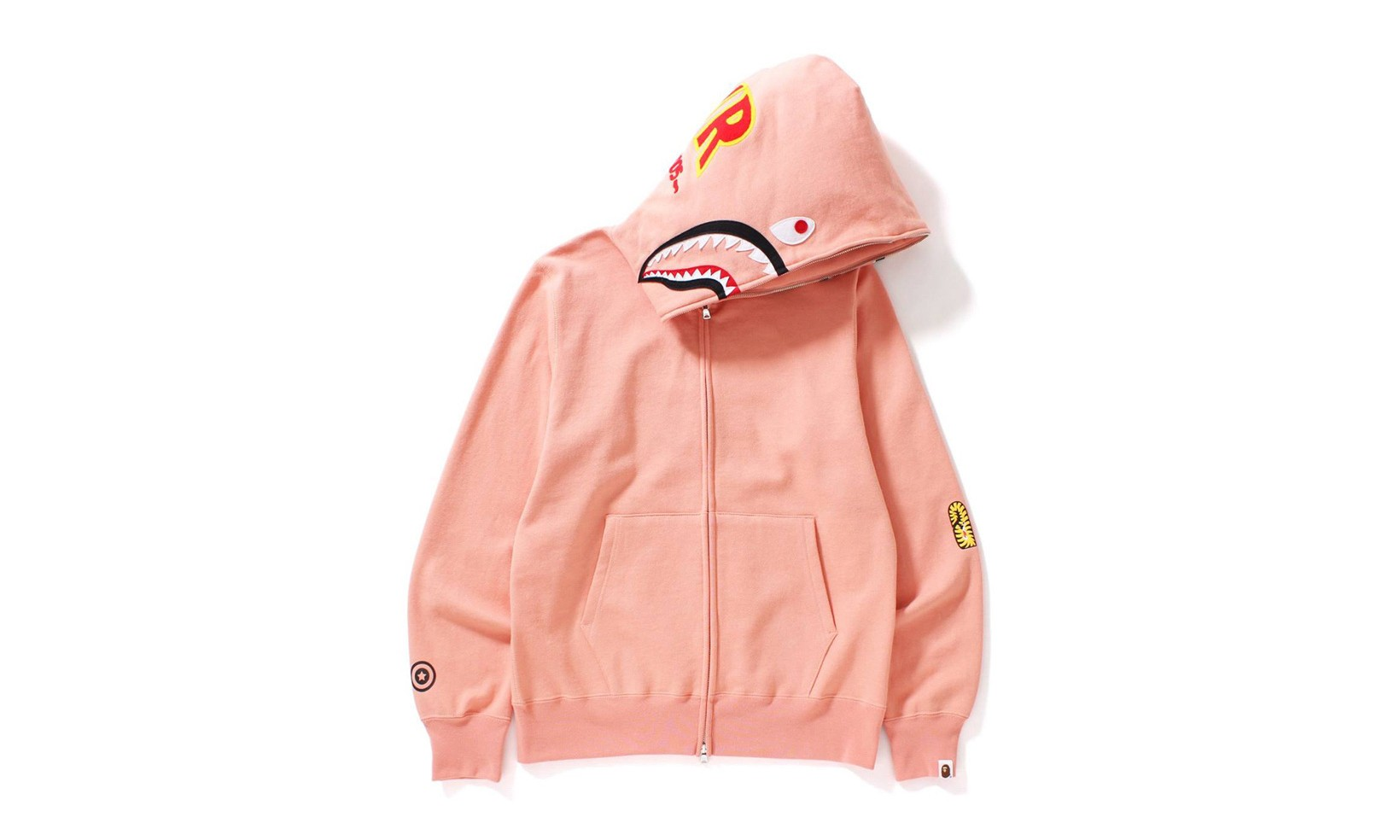 "还原经典,BAPE® 带来 ""2ND SHARK FULL ZIP HOODIE"" 系列"