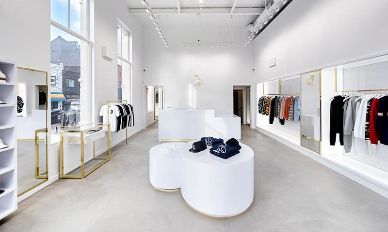 OVO 纽约旗舰店铺内景一览