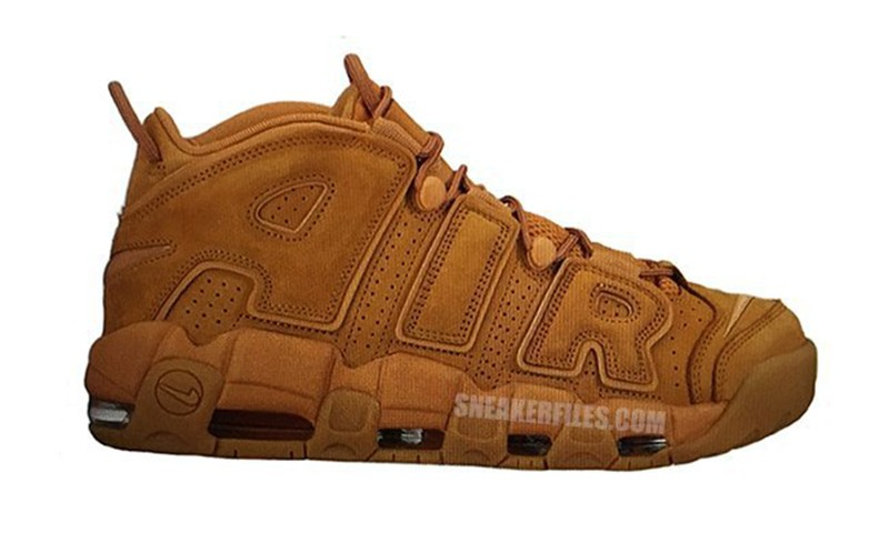 "Nike 即将带来 Air More Uptempo ""Wheat"" 配色"