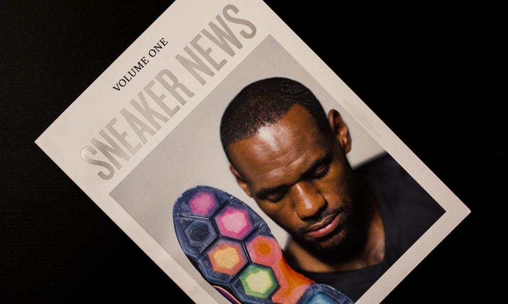 《Sneaker News》Vol.1 杂志欣赏
