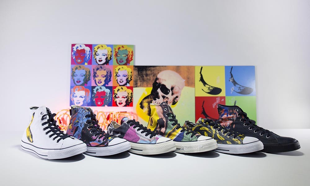 Converse「Andy Warhol」系列 Chuck Taylor
