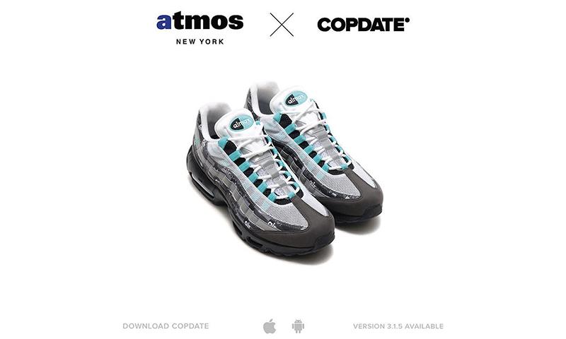 "atoms x Nike Air Max 95 ""Jade"" 仅在纽约 atmos 门店限量发售"