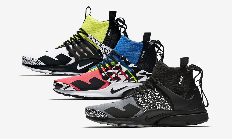 ACRONYM® x Nike 新款联名 Air Presto Mid 发售日期曝光