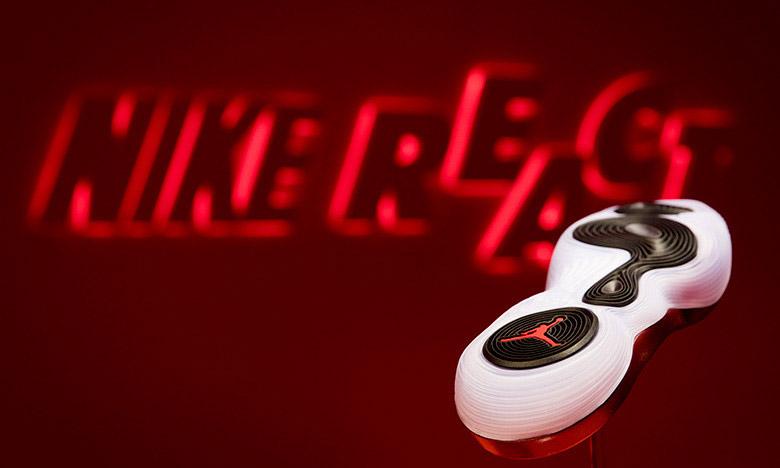 REACT 全覆盖,Nike 助力 Jordan Brand 完成篮球鞋新设计