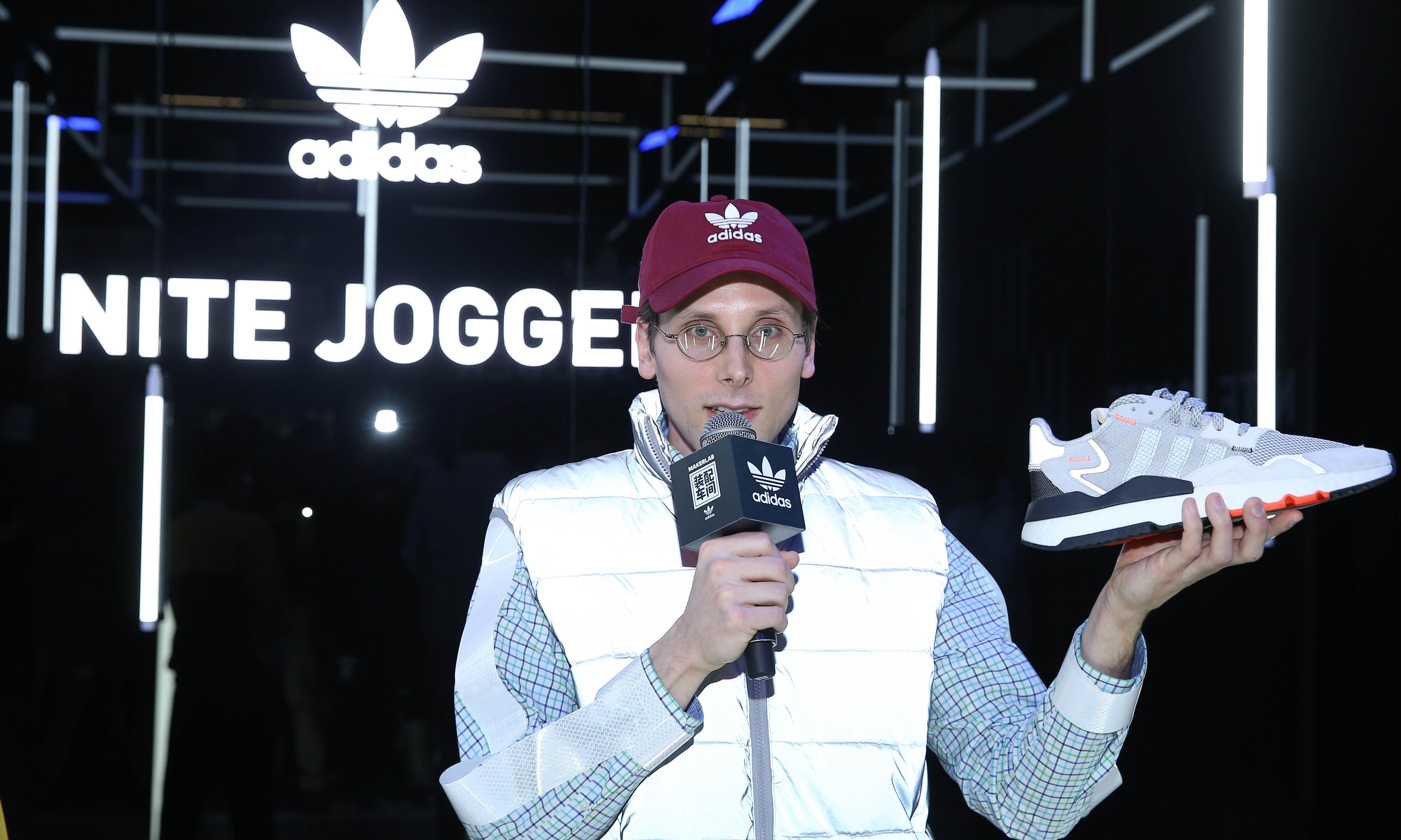 """469c70eca adidas Originals 找来了一位""""书呆子"""" 测试新鞋款… – NOWRE现客"""