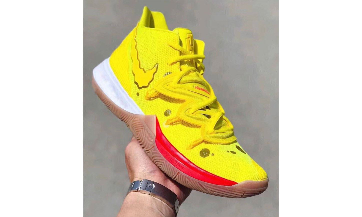 《海绵宝宝》与 Nike 联手打造 Kyrie 5 发售时间