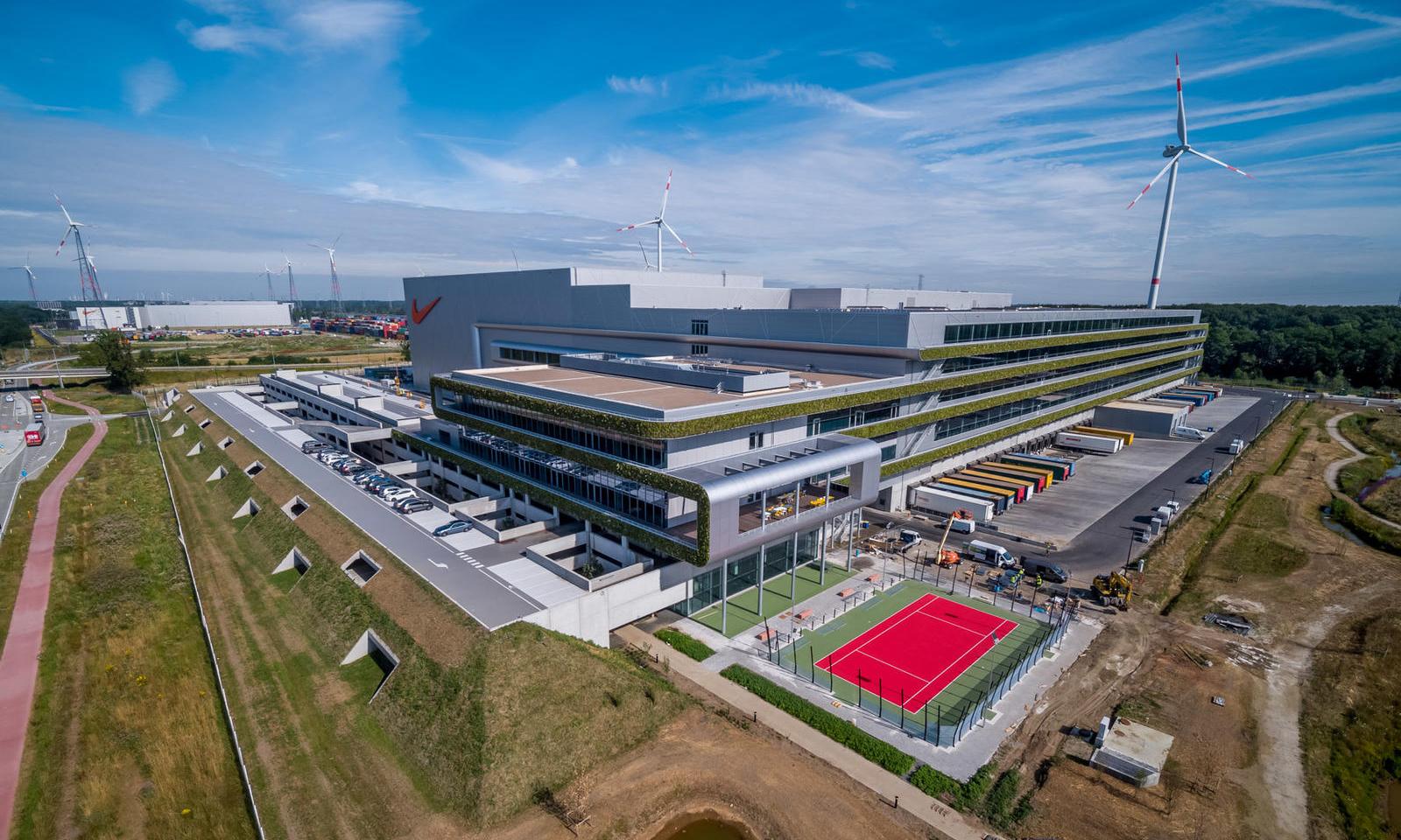 最先进的可持续供应链,Nike 全新欧洲物流园区扩建完成