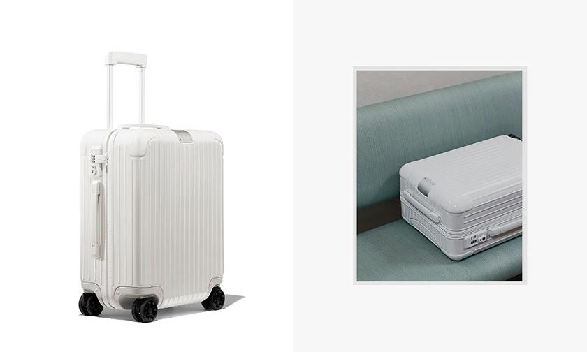 简洁不俗,Rimowa 推出新款全白配色行李箱