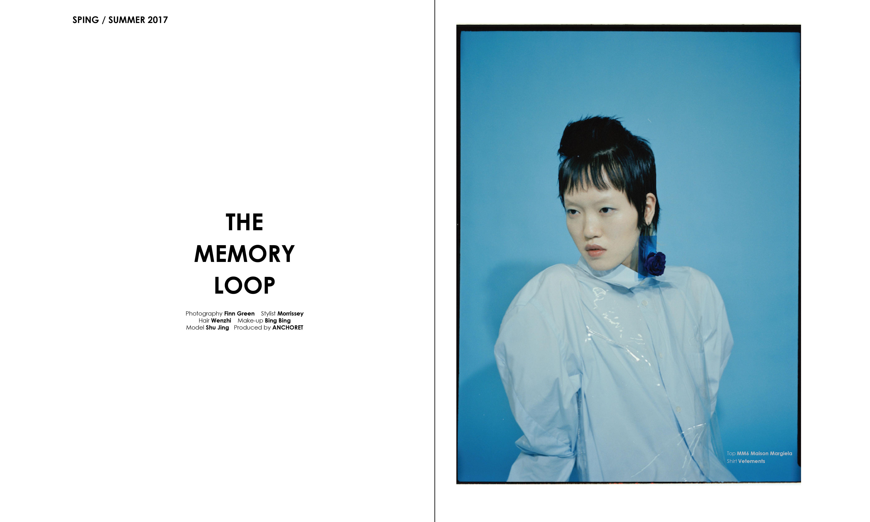 "ANCHORET 发布 ""The Memory Loop"" 2017 春夏系列造型特辑"