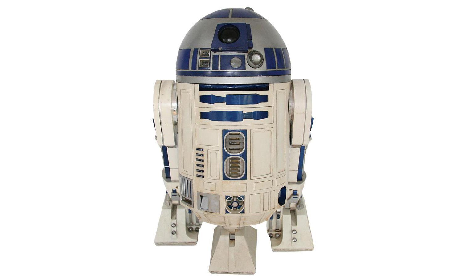 拍摄过《星战》三部曲的 R2-D2,最终拍出千万天价