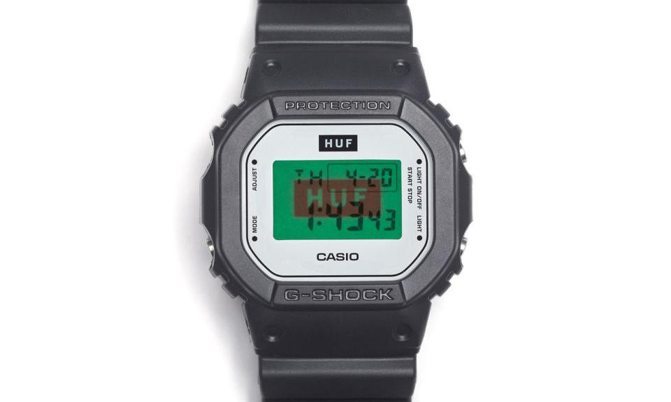 15 周年纪念,HUF x G-Shock DW5600HUF-1 即将发售