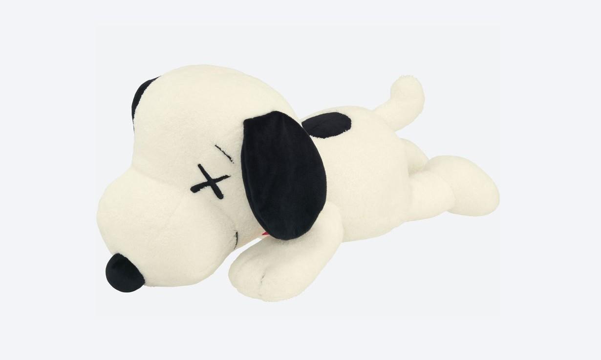 没买到 KAWS x PEANUTS UT 系列玩偶的朋友,它又补货了