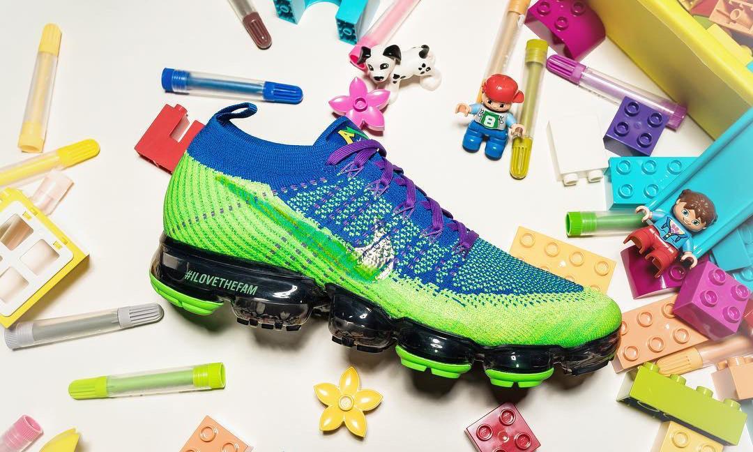 抢先预览 Doernbecher Freestyle Nike Air VaporMax 鞋款