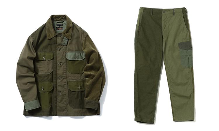 Engineered Garments 与 BEAMS PLUS 推出别注版套装