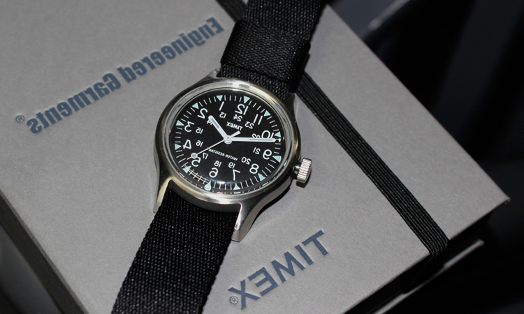 BEAMS BOY x Engineered Garments x TIMEX 三方联名表款释出