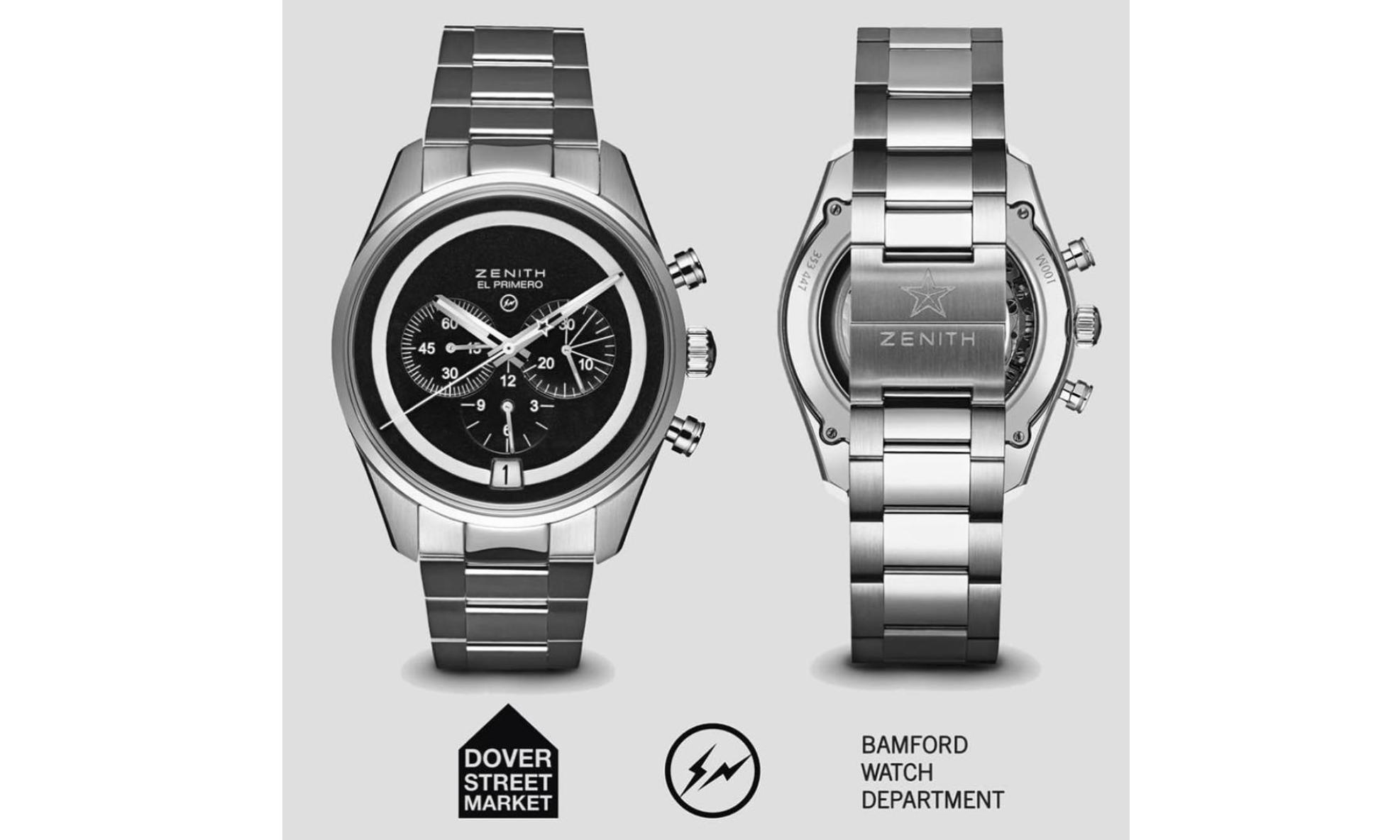 huge selection of dff5c 16514 Bamford Watch Department 与fragment design 联手带来Zenith ...