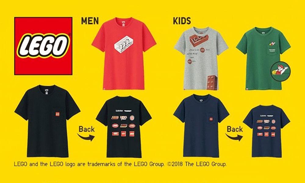 UNIQLO UT x LEGO® 联名系列正式发布