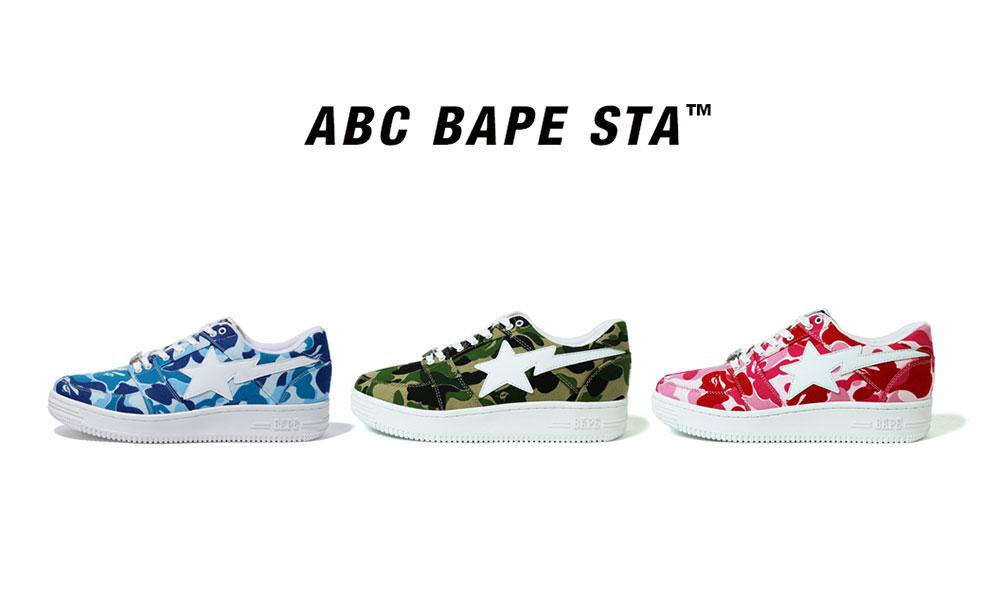 A BATHING APE® 推出全新 ABC BAPE STA 鞋款