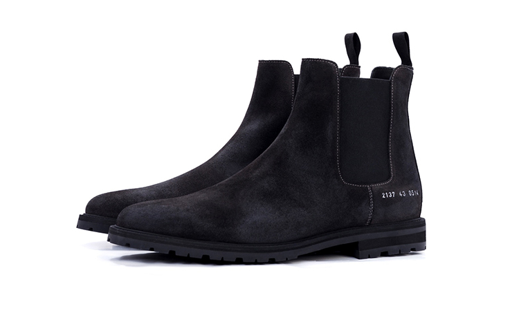 Roden Gray x Common Projects 联名版切尔西靴释出