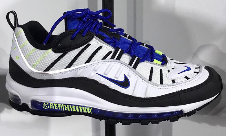 Nike Air Max 98 即将发售配色曝光