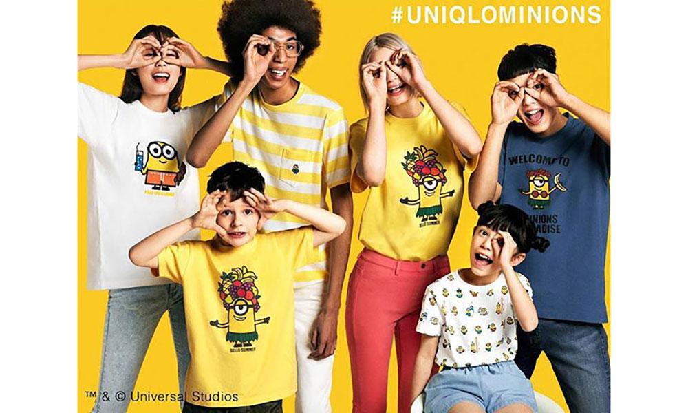 UNIQLO UT 联手 MINIONS 让你提前体验夏天