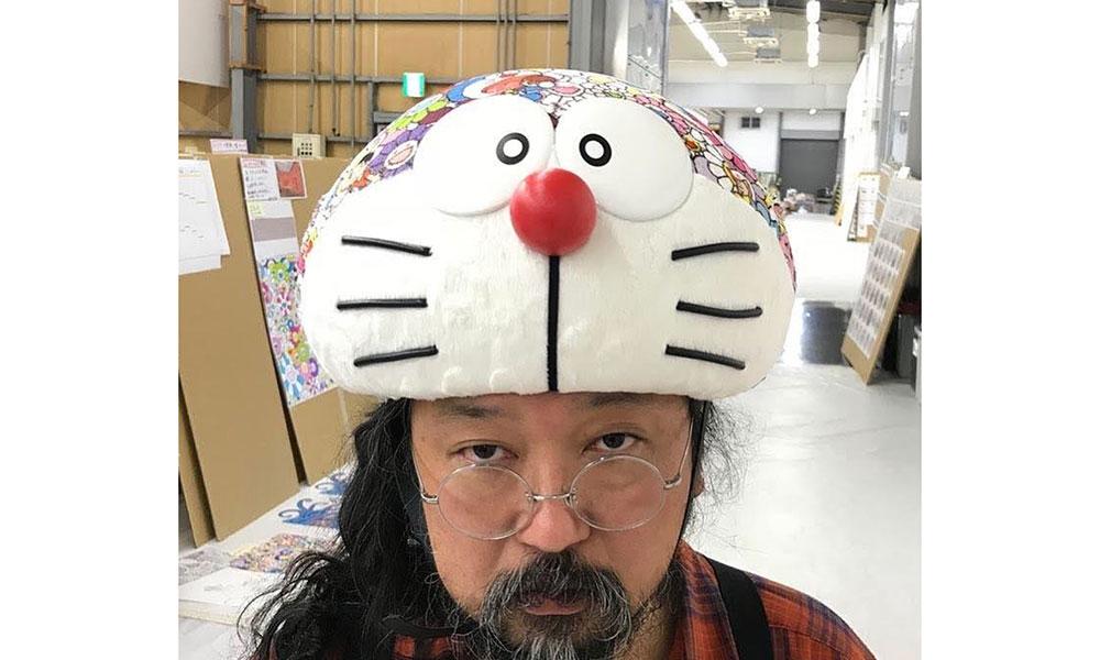 "UNIQLO UT x Doraemon x Murakami 还推出了一顶 ""帽子"""