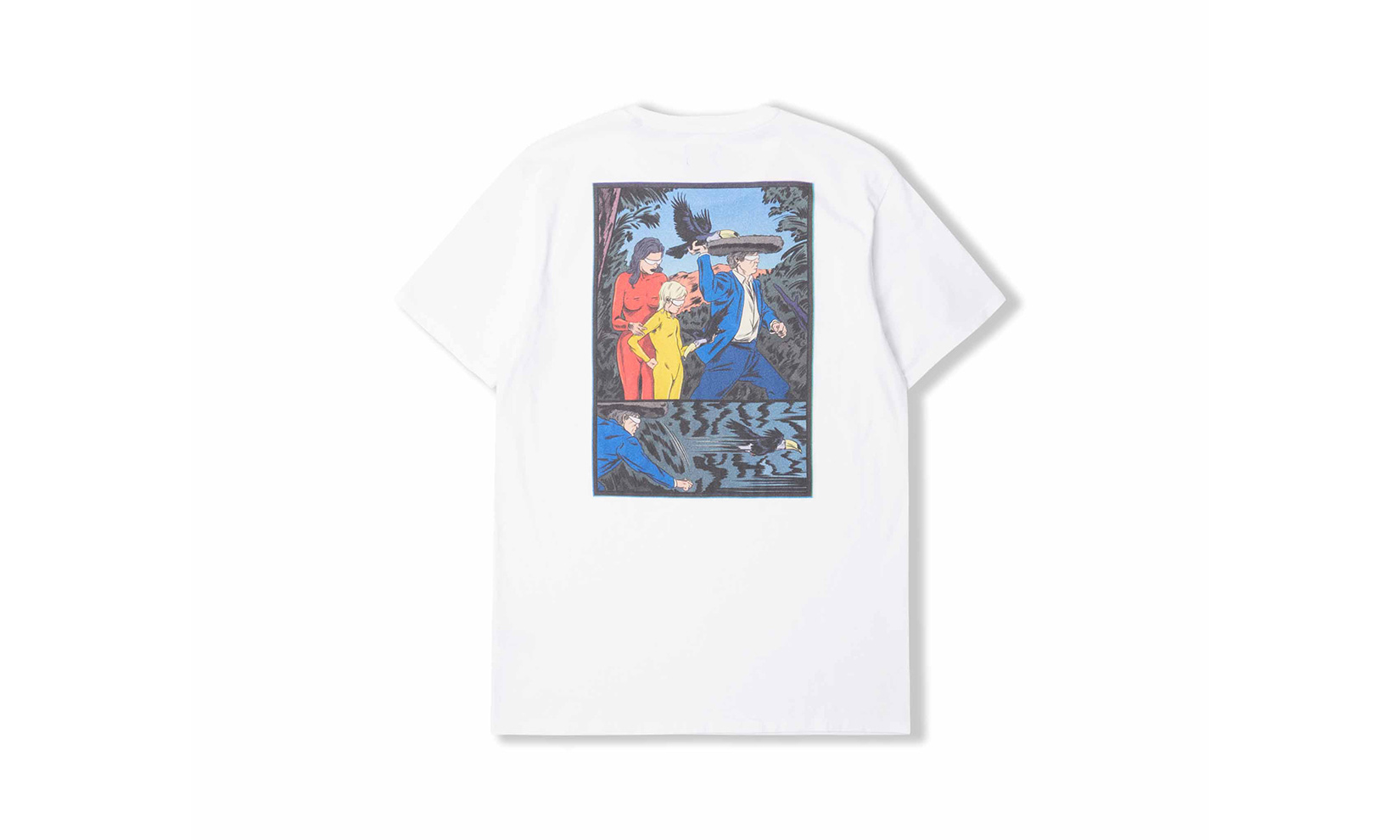 EDWIN 联手艺术家 Ugo Bienvenu 打造科幻插画 T-Shirt