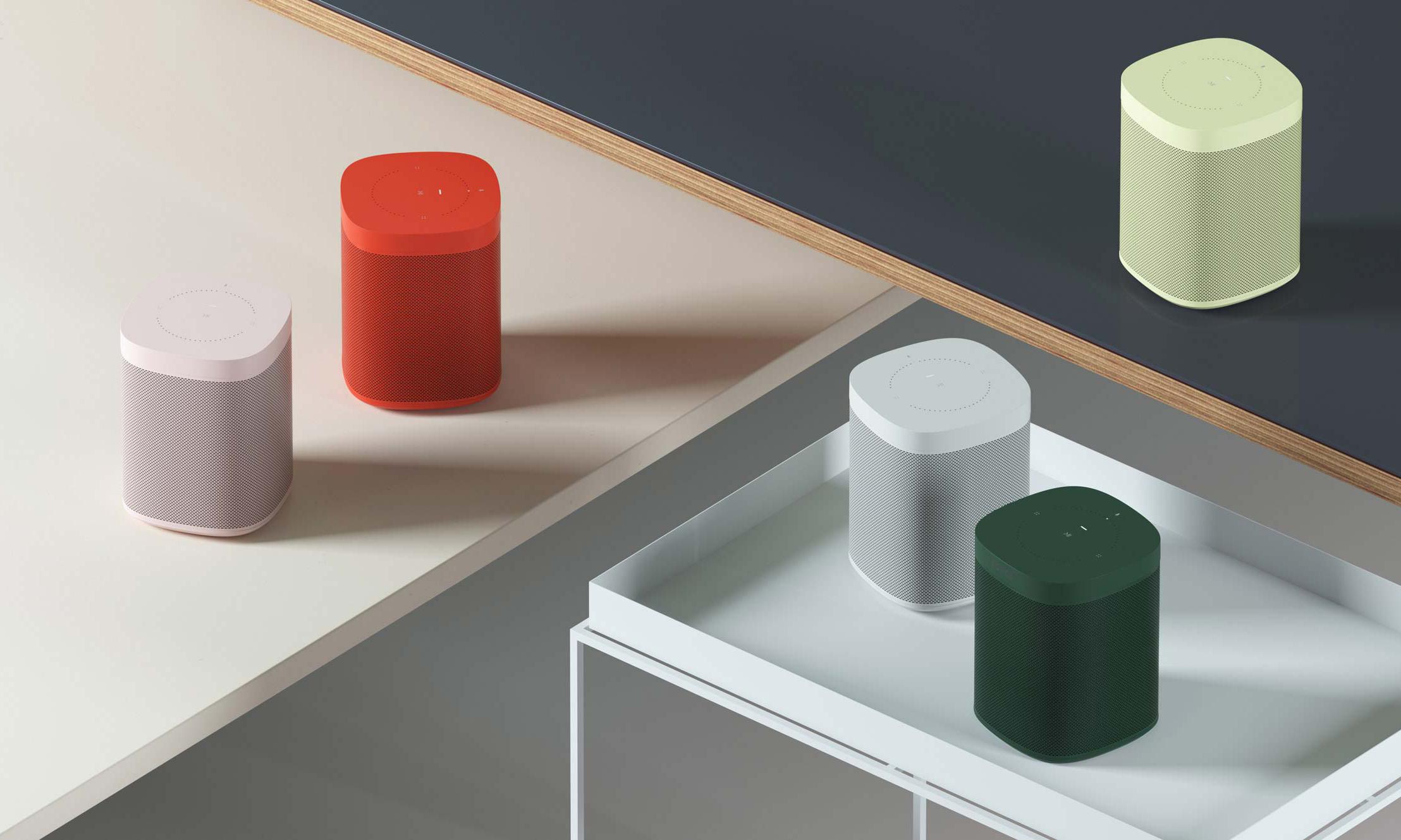 色彩诱惑,Sonos 与 HAY 跨界打造联名款音箱