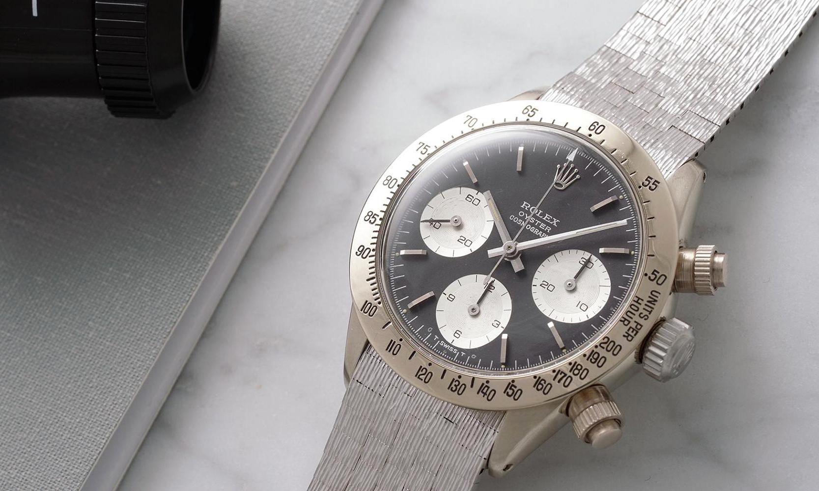 这块复古 Daytona 成为史上第二贵的 Rolex 腕表