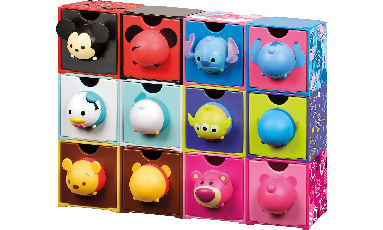7-Eleven x Disney ,6 位卡通人物做成的百变组合箱