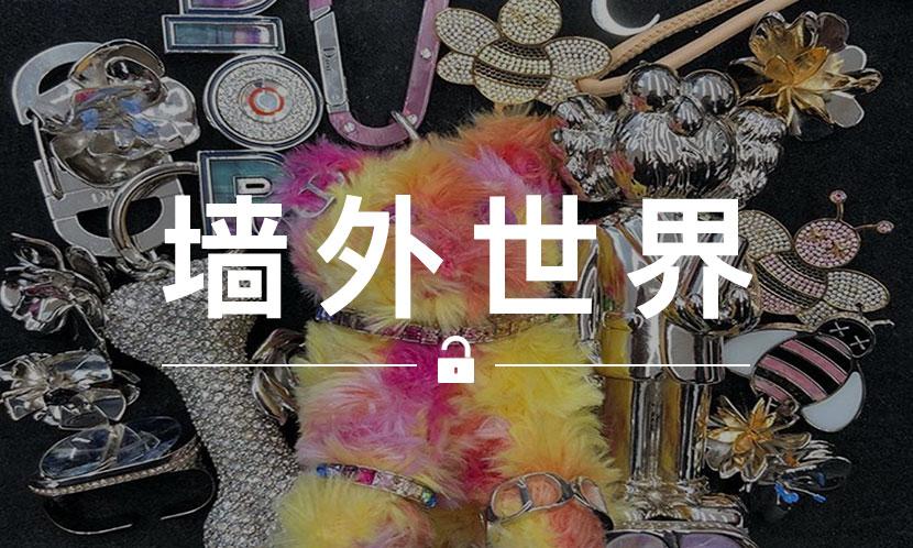 墙外世界 VOL.508   来看看 KAWS 和 Dior 的全新合作配饰