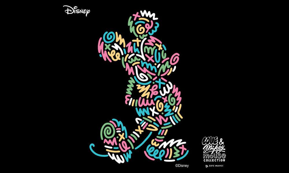 英国鬼才插画艺术家 Kate Moross 携手 Uniqlo UT 打造最新 Mickey Mouse 别注系列