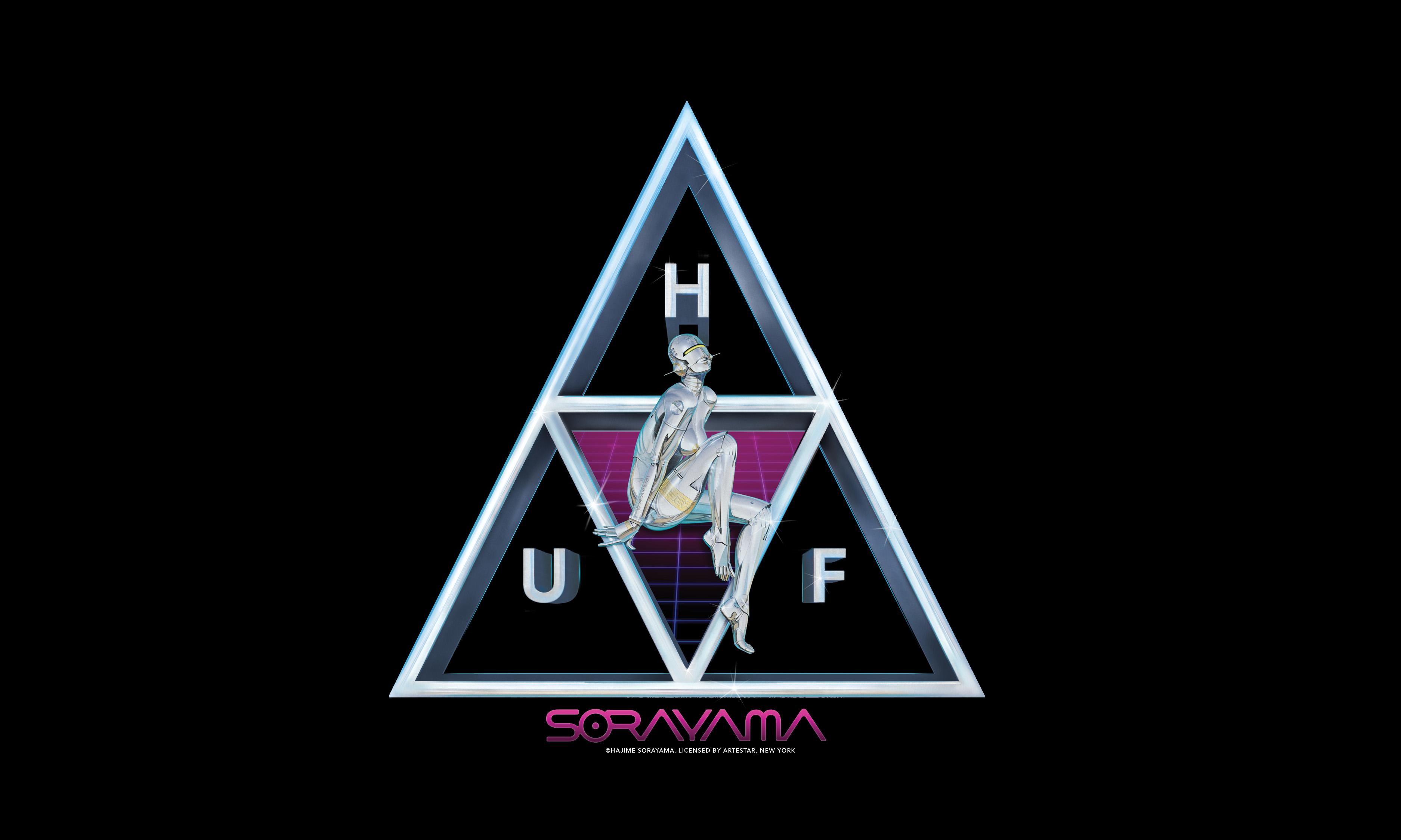 性感机器人再现,HUF x 空山基带来联乘系列