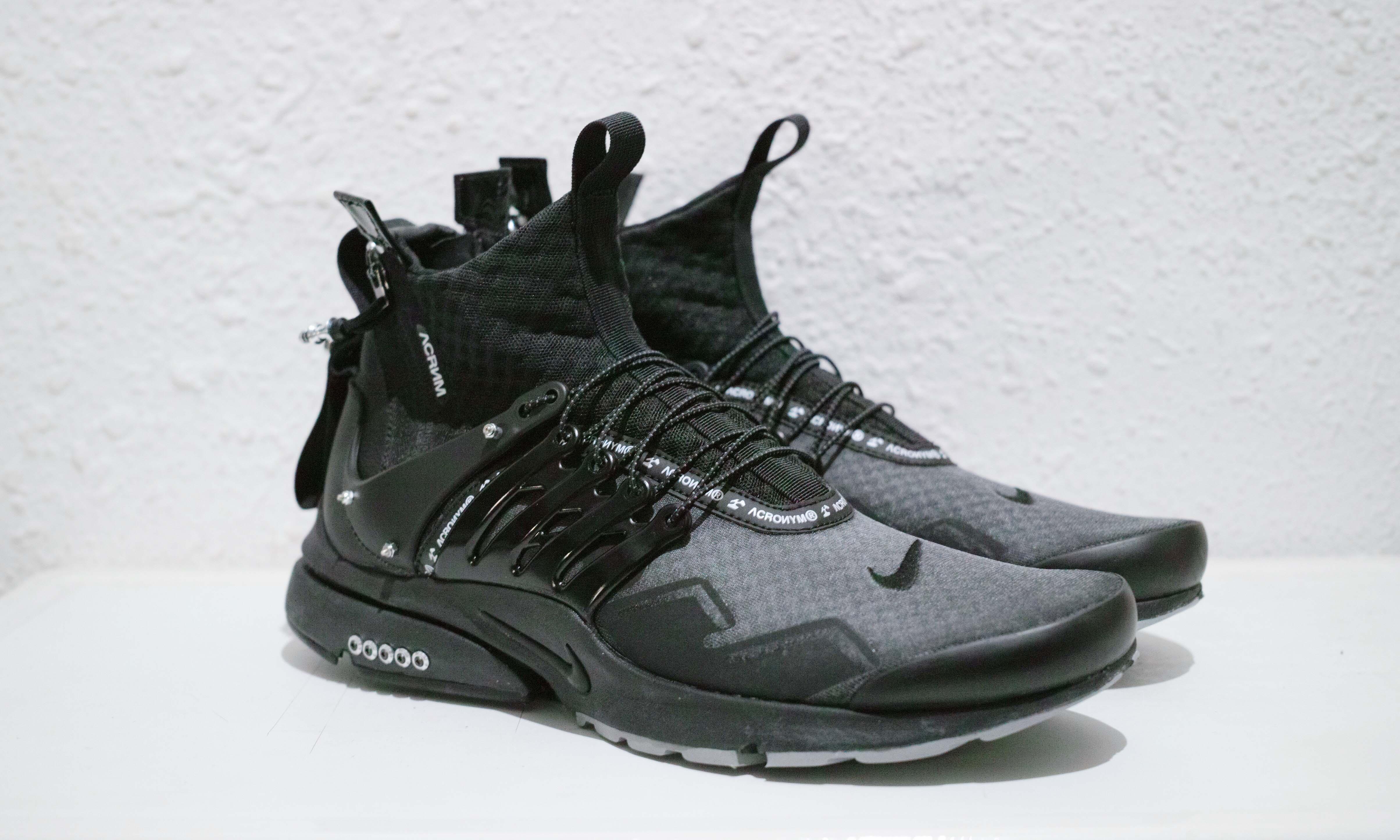 以 ACRONYM® x NikeLab Air Presto Mid 为蓝本,Ziv 带来最新改造