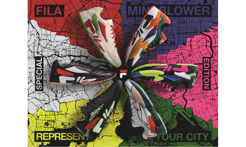 FILA FUSION 推出全新 MIND BLOWER CITY 系列鞋款