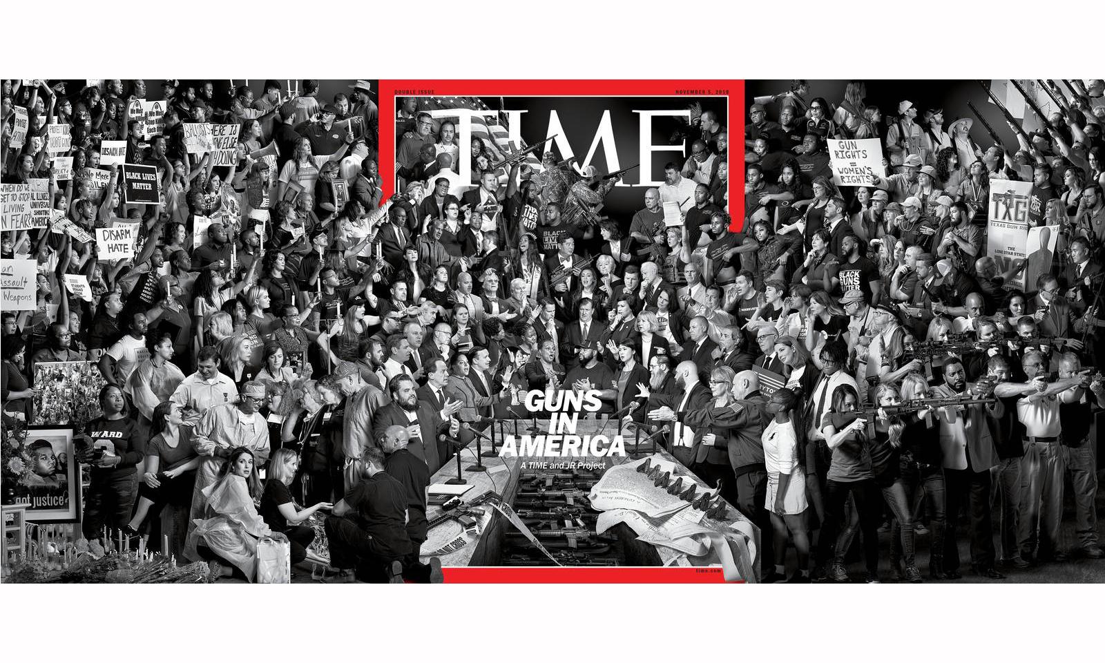 街头艺术家 JR 创作全新《TIME》封面