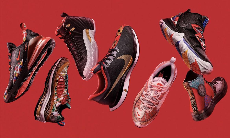 Nike 为中国新年推出主题鞋款系列