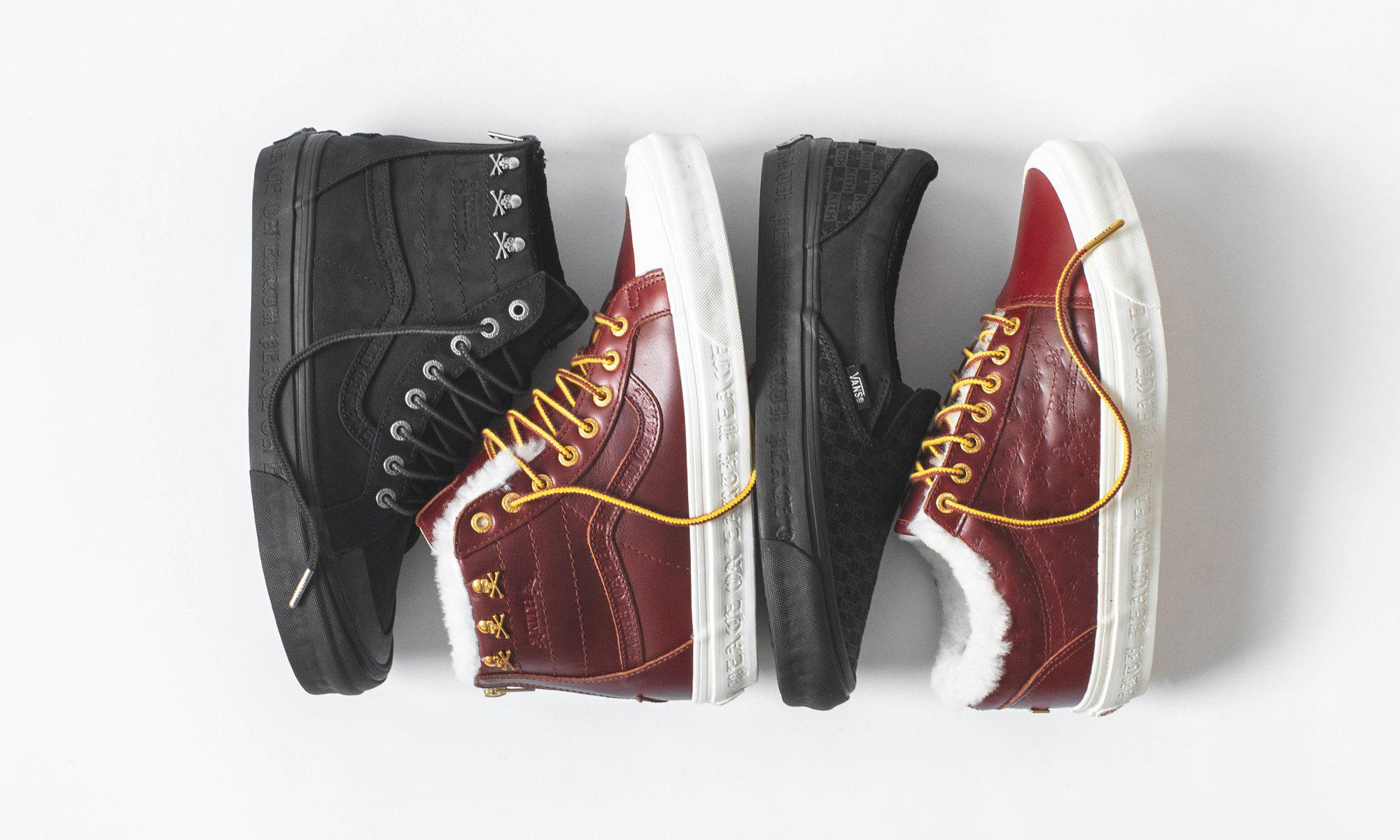 KITH x mastermind WORLD x Vans 联名鞋款部分细节预览
