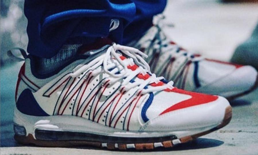 陈冠希发布 CLOT x Nike 全新联名鞋款上脚图