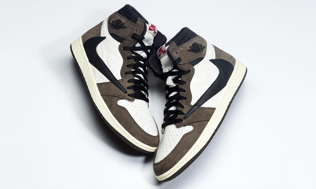 4 月发售,Travis Scott x Air Jordan I 细节图近赏