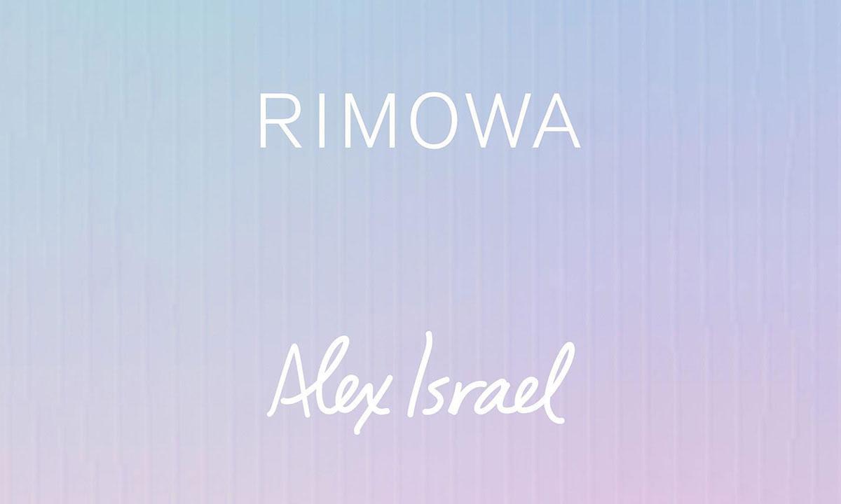 """LA 的天空"" ,RIMOWA 推出艺术家 Alex Israel 联名行李箱"