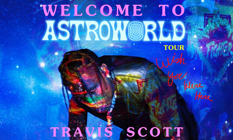 """一场 Travis Scott 的潮流征战,""""Astroworld"""" 周边登陆 DSM 纽约"""
